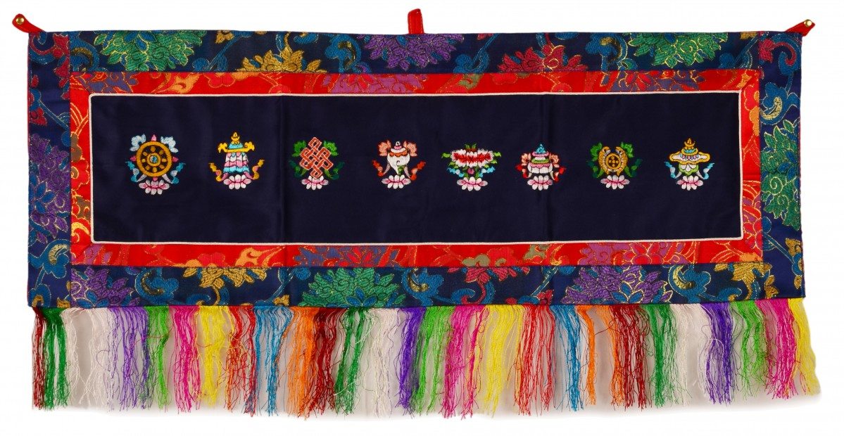 Wandbehang Tashi Tagey quer 86x31 cm