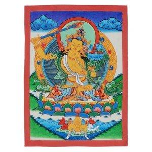 Thangka - Manjushri 29 x 40,5 cm