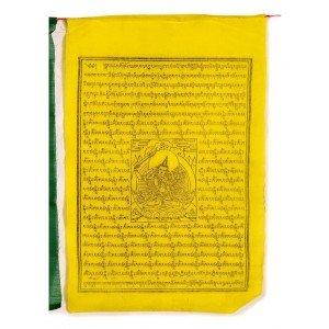 Gebetsfahnen Manjushri (25 Blatt) 850 cm BW