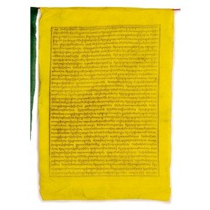 Gebetsfahnen Sampa-Lhundup  (25 Blatt) 850 cm BW