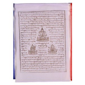 Gebetsfahnen Tsela-Namsun (25 Blatt) 850 cm P