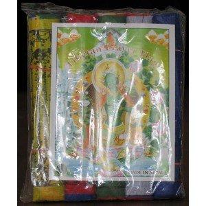 Gebetsfahnen  Baumwolle (10 Blatt) 160 cm 5er Set