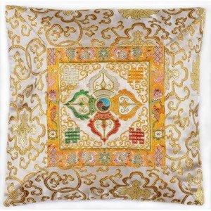 Buddhistischer Kissenbezug