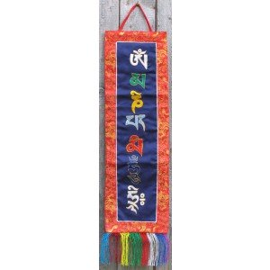 Wandbehang - Mantra Om Mani Padme Hum