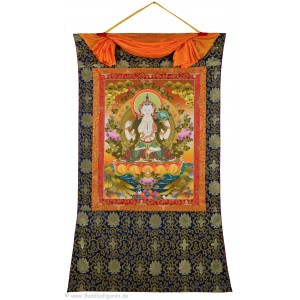 Thangka - Chenresig - Avalokitesvara  94X145 cm