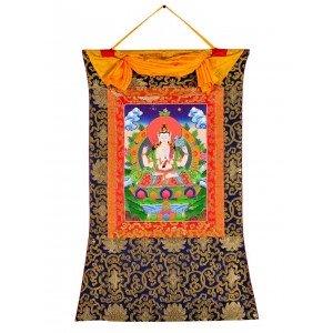 Thangka - Chenresig - Avalokitesvara  58 X 85 cm