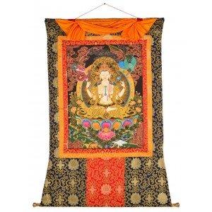 Thangka - Chenresig - Avalokitesvara 100 x 129cm