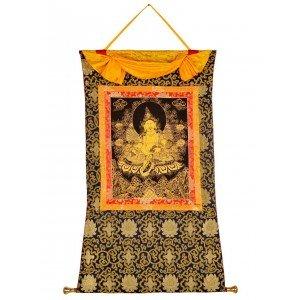 Thangka Jambhala - Kubera  golden