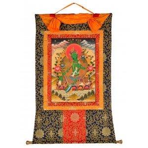 Thangka - Grüne Tara  70 x 102 cm