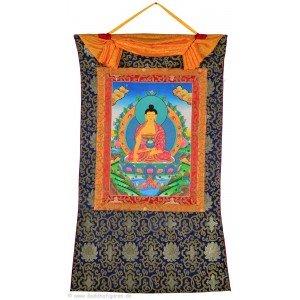 Thangka - Shakyamuni 72 x 112 cm