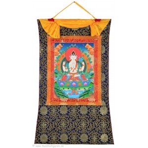 Thangka - Chenresig - Avalokitesvara  72 x 112 cm