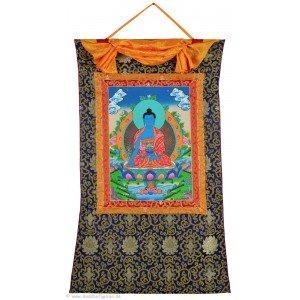 Thangka Medizinbuddha 72 x 112 cm