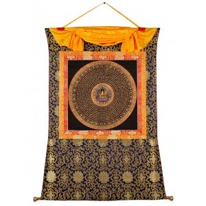 Thangka Mandala Buddha Shakyamuni 83 x 114 cm