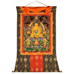 Thangka - Shakyamuni 100 x 129 cm