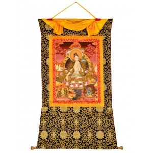 Thangka  - Weiße Tara  86 x 121 cm