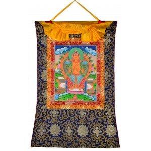 Thangka - Maitreya 58 cm x 85 cm