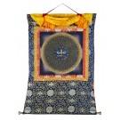 Thangka Mandala Buddha Augen
