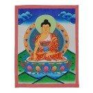Thangka - Shakyamuni 31 x 39,5