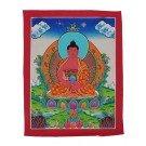 Thangka - Buddhas Amitabha 26 x 34 cm