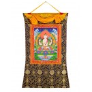 Thangka - Chenresig - Avalokitesvara  72 x 112 cm 2