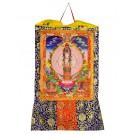Thangka Avalokitesvara Kunstdruck  105cm x 63cm