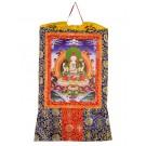 Thangka Chenrezig Kunstdruck 2 105cm x 63cm
