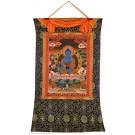 Thangka Medizinbuddha 78 x 118 cm