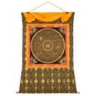 Thangka Mandala Grüne Tara Mantra 121 x 152 cm
