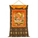 Thangka Jambhala - Kubera 80 x 114 cm