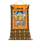 Thangka Jambhala - Kubera 92 x 131 cm