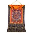 Thangka Mandala Buddha Akshobya 76 x 109 cm