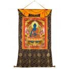 Thangka Medizinbuddha 82 x 114 cm 2