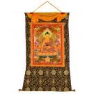 Thangka - Shakyamuni 82 x 111 cm 2