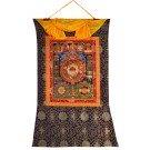 Thangka tibetischer Kalender 72 cm x 112 cm