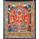 Newari Thangka - Kumar - Kartikeya  45 cm x 55 cm